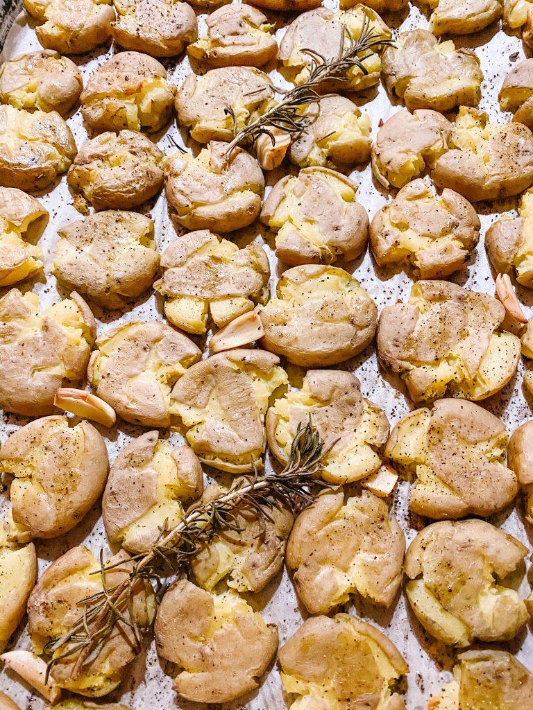 Mini Smashed Potatoes